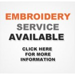 Embroidery Available! Click for more info.