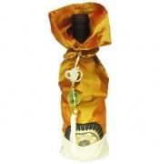 Golden Sunrise Bronze Wine Bag