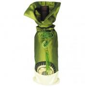 Golden Sunrise Green Wine Bag