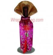 Imperial Wildflower Violet Wine Bag